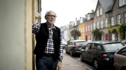 Kjeld Lykke bor på Olufsvej på Østerbro. Han er generet af støj, der stammer fra den nye Cityringen.