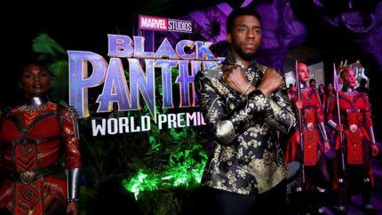 Chadwick Boseman spillede den sorte panter i »Black Panther«-filmen, der havde premiere i 2018.