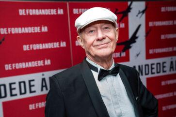 Anders Refn på den røde løber. Gallapremiere og rød løber på Anders Refns nye film 'De Forbandede år', i Imperial i København onsdag den 8. januar 2020. (foto: Martin Sylvest/Ritzau Scanpix 2019)
