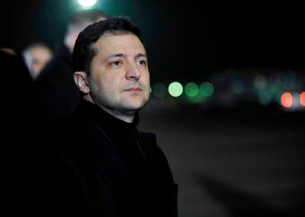 Ukraines præsident, Volodymyr Selenskyj, har sat gang i en omfattende oprydning i landets korrupte offentlige anklagemyndighed. Nu siger kritikere, at han bruger oprydningen til at fremme sine egne politiske interesser. Arkivfoto: Sergei Chuzavkov/AFP/Ritzau Scanpix