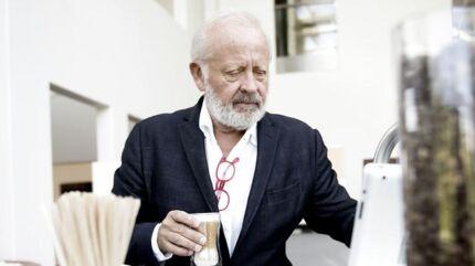 Ejer og direktør for Scanomat, der producerer kaffeautomater, Kim Vibe-Petersen.