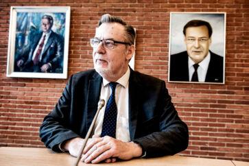 Ishøjs nuværende borgmester Ole Bjørstorp om udfordringerne ved integrationen på Vestegnen.. (Foto: Linda Kastrup/Ritzau Scanpix)