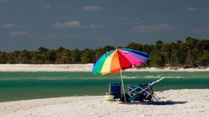 Man kan finde fred og ro og dejlige strande i denne del af Florida – men der er også mange sjove ting for børn.