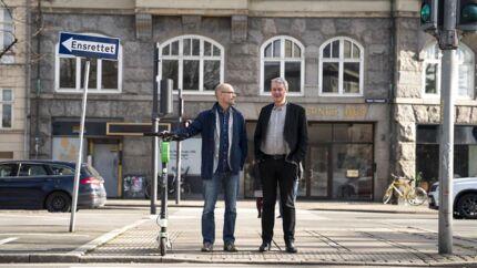 Lars Lundbye og Per Feldthaus fra virksomheden Almenr vil ændre den måde, danskerne laver bofællesskaber på. Det er noget med deleøkonomi, crowd lending og en webplatform.