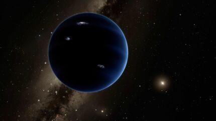 Solsystemet har måske en niende planet, som består af brint og helium. Astronomerne mener, den kan se sådan ud. Foto: AFP PHOTO / CALTECH / ROBERT HURT
