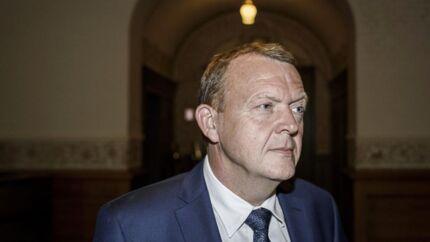 Danmarks statsminister Lars Løkke Rasmussen.