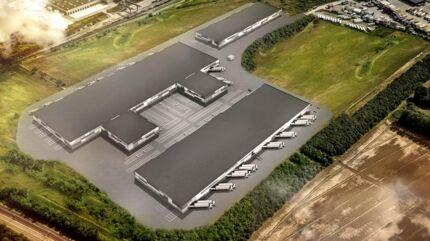 Sådan kommer det nye Grønttorv i Høje-Taastrup til at se ud.
