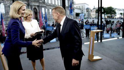 Topmøde: Thorning og Løkke i debat hos TV 2 torsdag aften.
