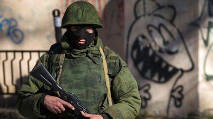 Simferopol, Krim-halvøen, 3. marts 2014.