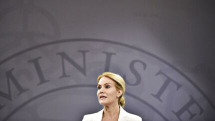 Statsminister Helle Thorning-Schmidt synes at lægge i kakkelovnen til valgkamp.