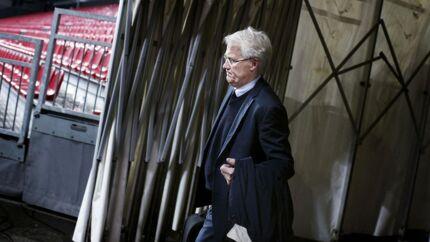 Landskamp mellem Danmark-Sverige. Morten Olsen stopper