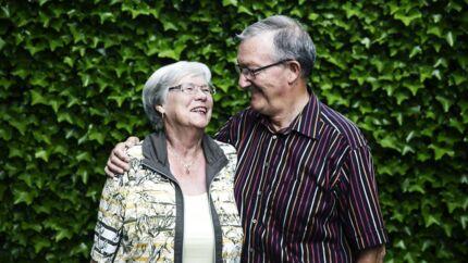 »Vi kunne jo hele tiden se, at det gik bedre og bedre. Lykken er jo heller ikke at have det hele på én gang, men at se, at det hele tiden går fremad,« fortæller Niels Fredenslund, der har været gift med Annemarie gennem 53 år.