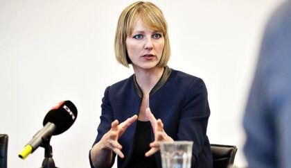 Miljøminister Ida Auken vil gøre det nemmere for kommuner at sikre sig mod skybrud.