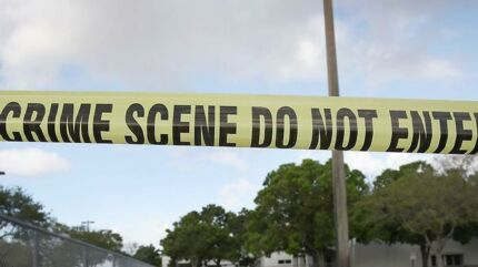 Skyderiet i Maryland sker efter et skyderi i Parkland den 14. februar, der på ny har pustet til debatten om skydevåben i USA. Arkivfoto. Joe Raedle/Getty Images/AFP