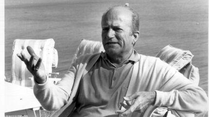 Claus von Bülow fotograferet i 1985 – det år, hvor han blev frifundet ved retten for mordet på sin hustru, Sunny. Arkivfoto: Åge Sørensen.