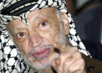 (ARKIV) »Italien er palæstinensernes Middelhavskyst« skrev den afdøde palæstinensiske præsident Yasser Arafat angiveligt i sin dagbog. Et italiensk ugeblad har afsløret detaljerne fra den palæstinensiske leders formodede dagbog. .. (Foto: LOAY ABU HAYKEL/Scanpix 2018)