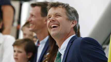 Kronprins Frederik under åbningen af den danske pavillion i begyndelsen af OL i Rio.