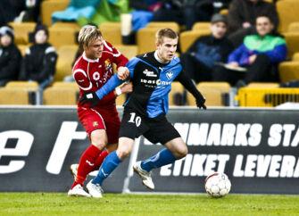 SAS Liga FC Nordsjælland - HB Køge. Køges Mads Laudrup(im) i aktion. (Foto: Kristoffer Juel Poulsen/Scanpix 2010)