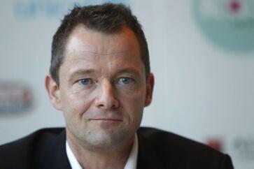 Brøndbys kommende direktør, Jan Lockhart til pressemødet hos Brøndby tirsdag den 14. december 2010. Brøndbys kommende direktør Jan Lockhart har først og fremmest fokus på at indfri klubbens potentiale.
