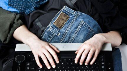 Mængden af betalinger online ligger 20 procent over niveauet ved sidste års Black Friday (Foto: Jonas Vandall / Scanpix)