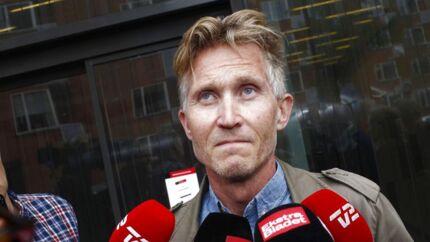 Brian Holm efter dagens frifindelse i Retten på Frederiksberg torsdag den 3. juli.