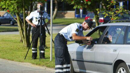 Arkivfoto. Bornholms Politi deler nu borgernes dårlige undskyldninger i trafikken.