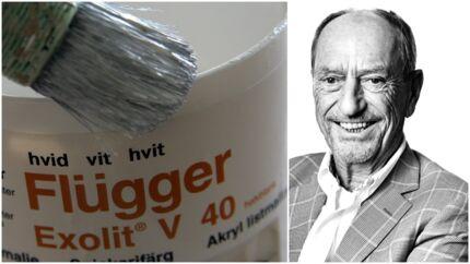 27-årige Sune Schnack har fået en chefpost i familiedynastiet Flügger, som faderen sendte på børsen i 1983. Det har længe ligget i kortene, at yngste sønnen ud af en søskendeflok på fem en dag skal overtage det hele. De to døtre har 82-årige Ulf Schnack (på billedet) aldrig spurgt.