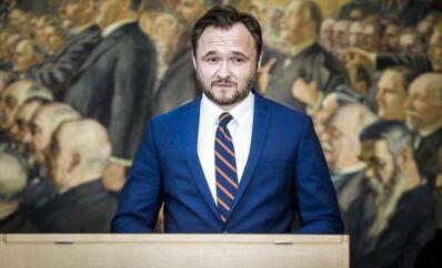 ARKIVFOTO 2015 af Dan Jørgensen (Socialdemokraterne)- - Se RB 9/9 2015 08.19. Integrationsordfører Dan Jørgensen (S) mener, at regeringen har spildt to dage i flygtningespørgsmålet. Dan Jørgensen, integrationsordfører for Socialdemokraterne, er ikke imponeret over regeringens ageren i flygtningesituationen hidtil. (Foto: Thomas Lekfeldt/Scanpix 2015)